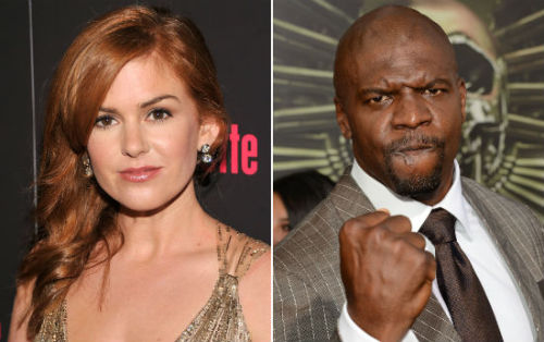 Isla Fisher and Terry Crews appearing in Arrested Development season 4 Both Fisher and Crews have already started shooting their guest roles in the upcoming fourth season. There's no word on who they're playing, but both will have run-ins with the Bluths when the dysfunctional family heads to Netflix in the spring. [via]