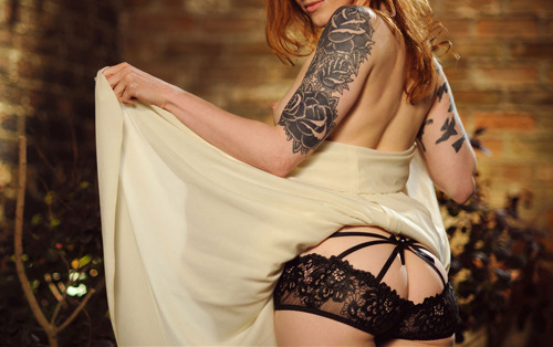 Tattoos and awesome Lingerie