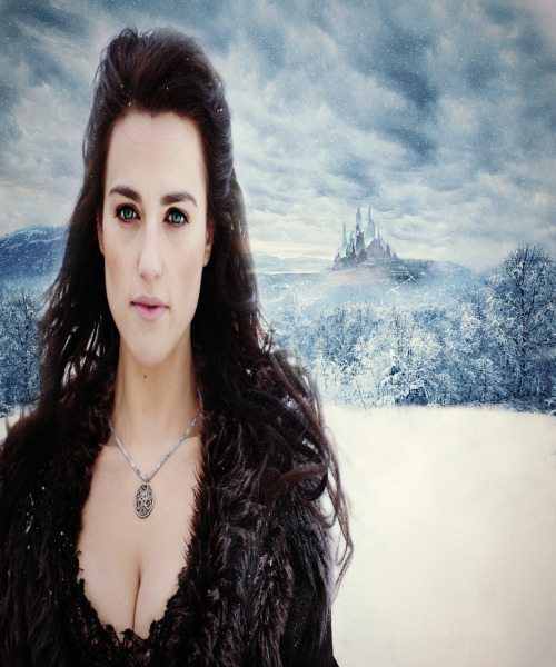 Morgana Pendragon as the Ice Queen wallpaper.