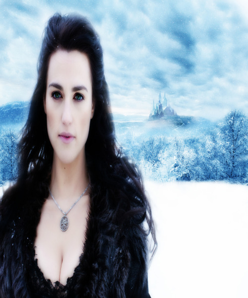 Morgana Pendragon as the Ice Queen.