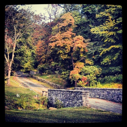 Entrance to Washington Irving's house. (Taken with Instagram)
