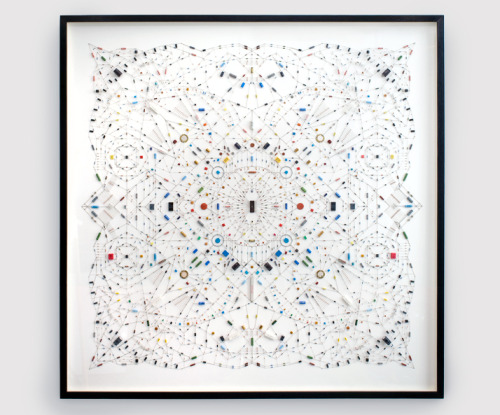 Technological mandala 02 (The beginning) - Leonardo Ulian
