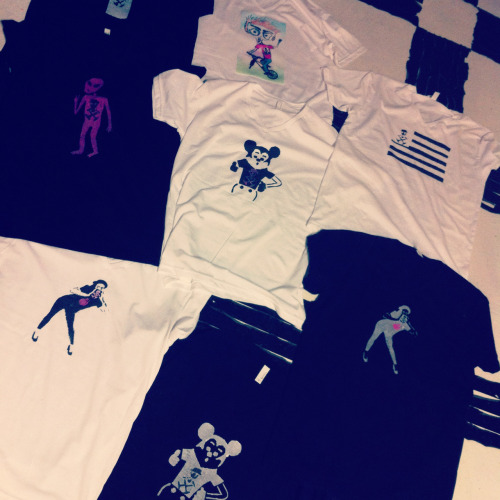 adambaranello:  More of the exclusive limited AJB T's!!