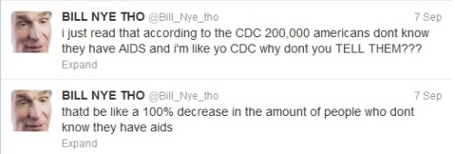 sometimes i want to just reblog all of bill nye tho's tweets.