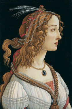Painting by Sandro Botticelli.