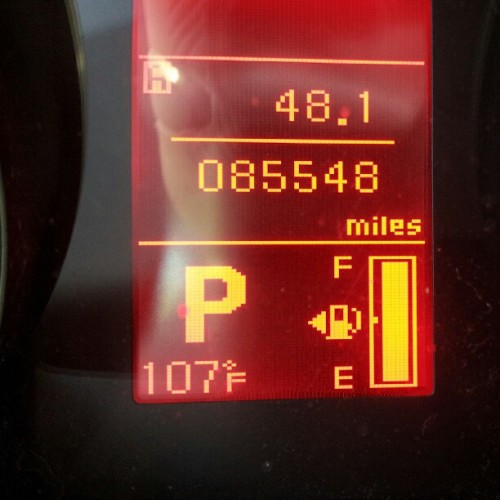What gives, Central Valley?! #melting (Taken with Instagram)