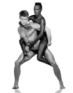Grace Jones and Dolph Lundgren by Albert Watson.