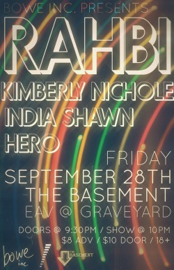 ATLANTA. SEPT 28. Rahbi + India Shawn + Hero + KimberlyNichole.