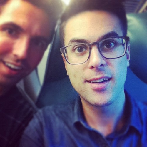 I wanna steal @billybobn's glasses so bad! (Taken with Instagram)