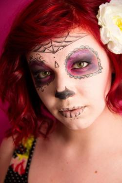Sugar Skull shoot, teamed up with Ashley for my in the manner of project. She did the amazing makeup and modeled for me! 2nd semester
