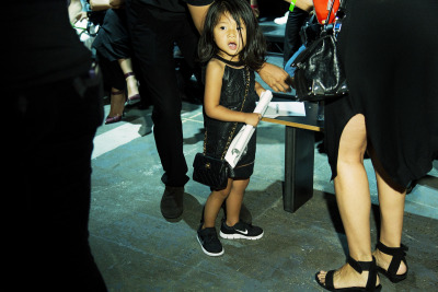 Aila Wang + Chanel Purse ©Elizabeth Griffin