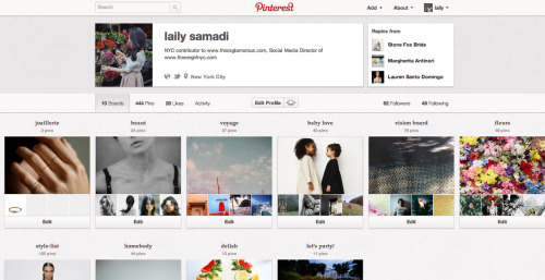 i'm mostly pinning these days! check me out on pinterest… xx