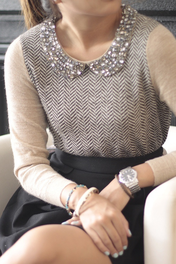 mimimooreuk:  Jewelled Herringbone