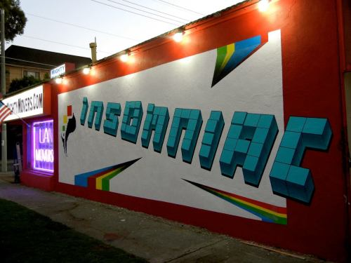 Insomniac is going Wall-to-Wall. We've become part of the artistic and expressive urban landscape of Los Angeles. Next time you make your way through our glorious city, keep an eye out for our street murals!