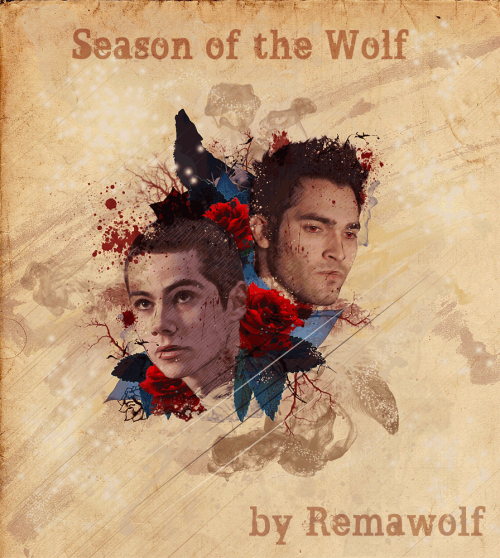remawolf:  Art cover for http://remawolf.tumblr.com/post/31503048777/season-of-the-wolf-au-fic  Haven't read the au fic yet. Must do that later after work. I love this art cover though…beautiful <3