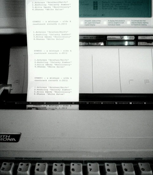 Processing labels for coattrack mixtape.
