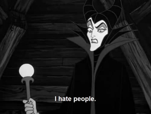 That awkward moment when you relate more to the witch than you do the princess.