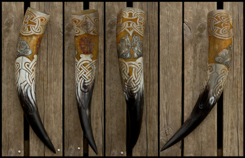 GoViking Drinking Horn by *Wodenswolf