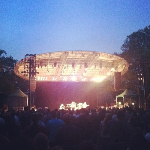 Ben Folds Five w @pattirego  (Taken with Instagram at Rumsey Playfield)
