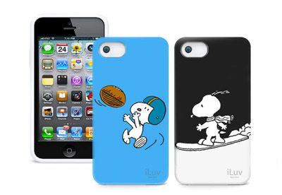 iPhone 5 iLuv Snoopy cases. I want!