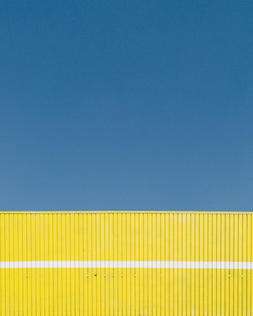 Yellow and Blue. Los Angeles, CA.