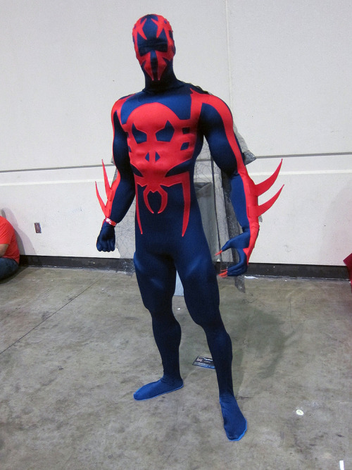 Spider-Man 2099! Photographed by Alrightok