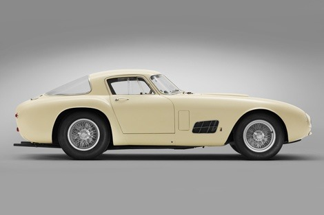 Ferrari 410 Berlinetta Speciale in white