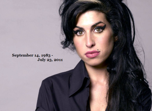Amy would have turned 29 today. Rest in Peace, Amy Winehouse.