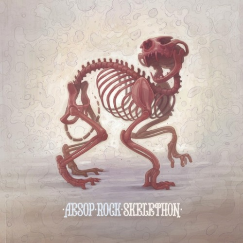 "Aesop Rock - Skelethon Coming to Aesop Rock's ""Skelethon"" in hopes to find a traditional hip-hop album will quickly prove as a dire mistake leading to bouts of frustration. Instead, consume with the focus point of Aesop's genre-challenging style in mind and embrace the mind-numbing wordiness; it might not be your cup of tea, but ""Skelethon"" offers a profuse level of detail and lyrical content for those looking for a challenging listen. (7/10) ———————————————————————- Follow us! Entertainment review blog: That's My Dad  Tumblr: http://itwascoolandfunny.tumblr.com/ Twitter: @itsmydad"