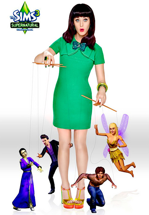 Katy, The Sims 3: Supernatural