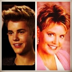 Twins. #JustinBieber #MarcyDarcy (Taken with Instagram)