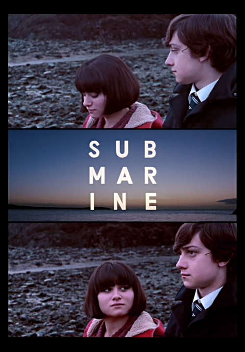 A Screenshot-Collage I made for the movie Submarine