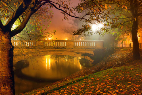 Night Mist, Oostende, West-Vlaanderen, BE. (by Reza-Sina)