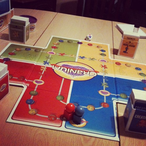 Playing cranium with the #boyfriend 😊 (Taken with Instagram)