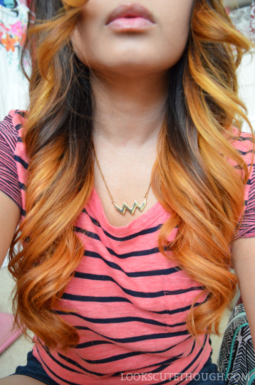 fuckyeah-dyedhair:  ombre with faded rose gold blog: lookscutethough
