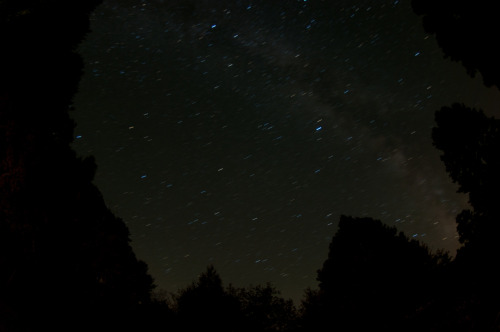 Starry Night.  Near Zenith, WV.  5 minute exposure.