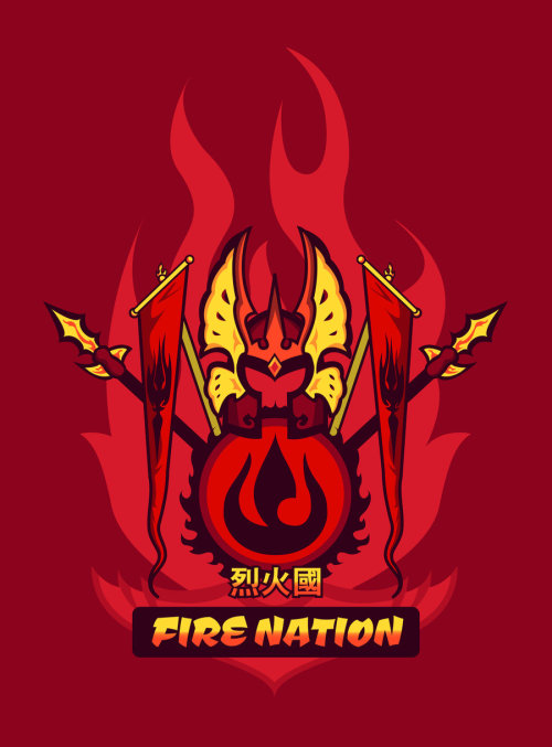elventhespian:  Avatar Nations Series - Fire Nation by ~Marissa-Meza