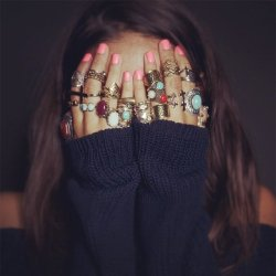 fashion accessories rings