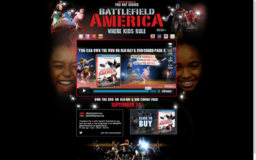 MAKE SURE TO PICK UP YOUR COPY OF BATTLEFIELD AMERICA IN STORES SEPTEMBER 18TH