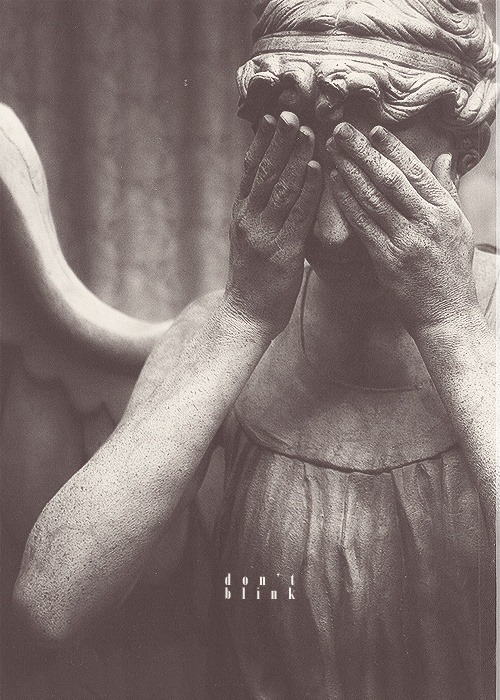 This weeping angel was in my dream last night. Which is why I'll be downing some No Doz and coffee tonight.