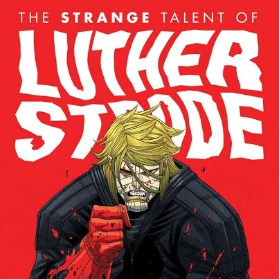 Are you ready for our huge signing tomorrow with STRANGE TALENT OF LUTHER STRODE writer JUSTIN JORDAN? We are PUMPED! And trust us: we've got something killer to give out to those first 15 of you who're lined up outside tomorrow! Whoever's first — post a picture. ;) We wanna share you on our hall of fame!