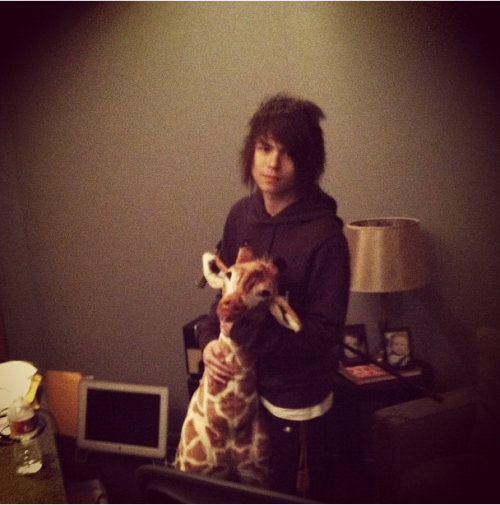 Jordan and Giraffe. Love Both of them !
