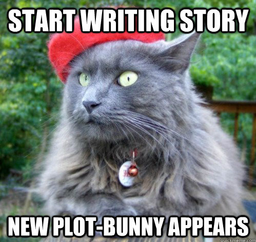 New plot-bunny appears. Thanks for the submission, thesilenceofnight!