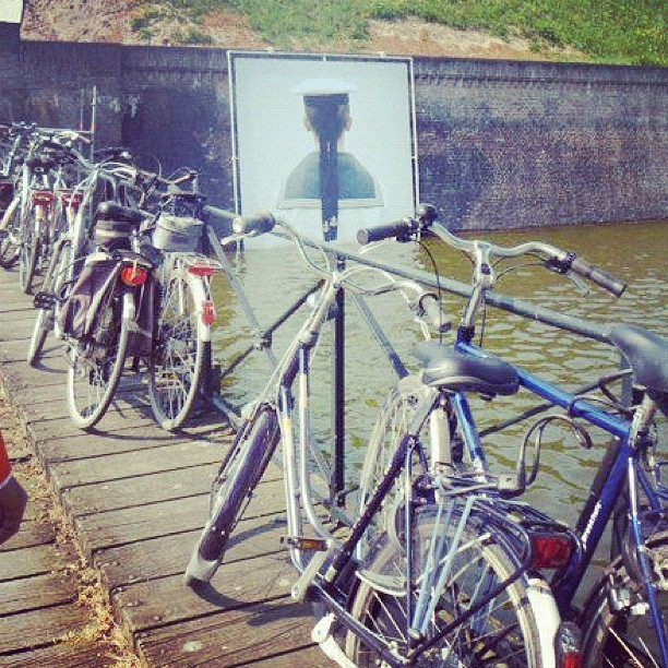 #naarden #noordholland #photography #sailor #bike #green #bridge #fort #dutch #netherlands #bicycle #nederland #europe #travel #instatravel (Taken with Instagram)