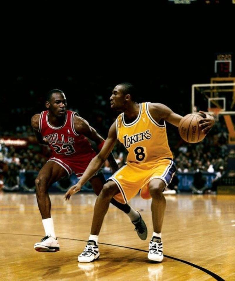 Young Gunz Collide: MJ vs. Kobe