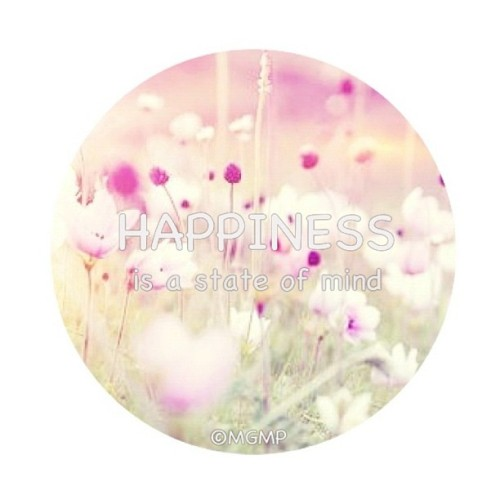 Happiness is a state of mind :) #happiness #happy #quote #flowers #garden #meadow #instagram #webstagram (Taken with Instagram)