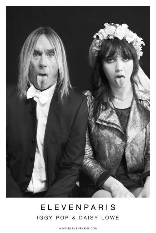 Iggy Pop & Daisy Lowe star in the Eleven Paris' Fall 2012 Campaign (via Fashion Gone Rogue)