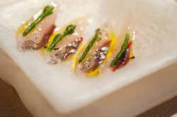 Crudo: Pesce Volante by nicknamemiket on Flickr.