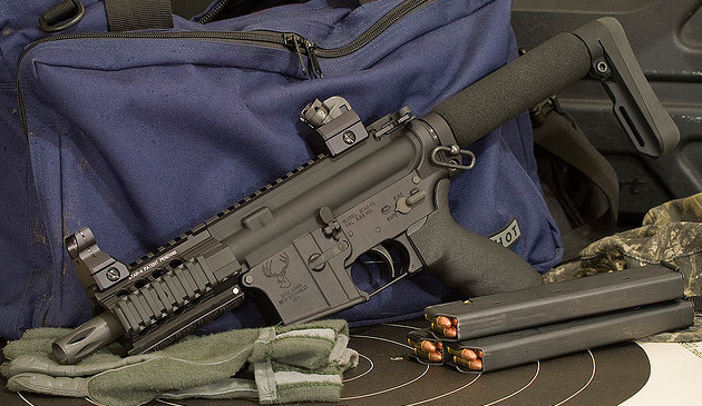 weaponzone:  Custom 9mm SBRCredit: Proteus9k