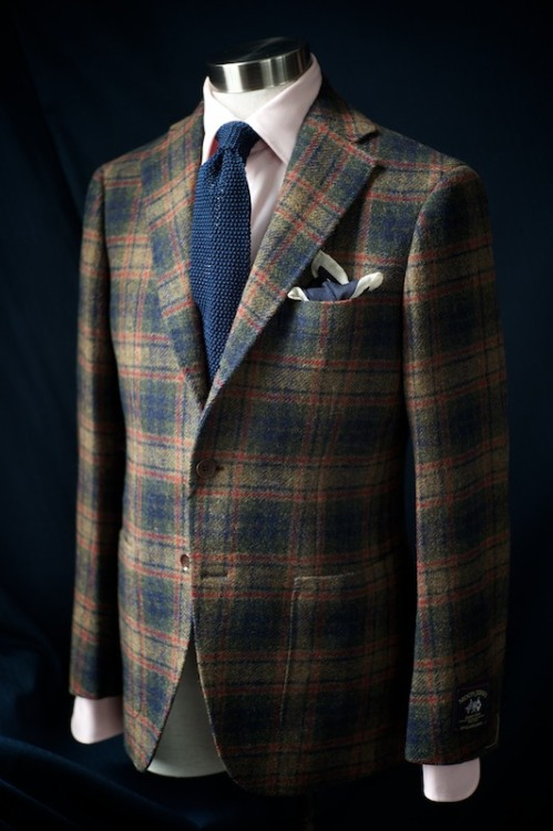 ethandesu:  Tweed Odd Coats Ring Jacket for The Armoury